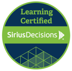 SiriusDecisions learning certified