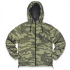 UNISEX NEW 'H' HOODED WINDBREAKER JACKET - WOODLAND CAMO
