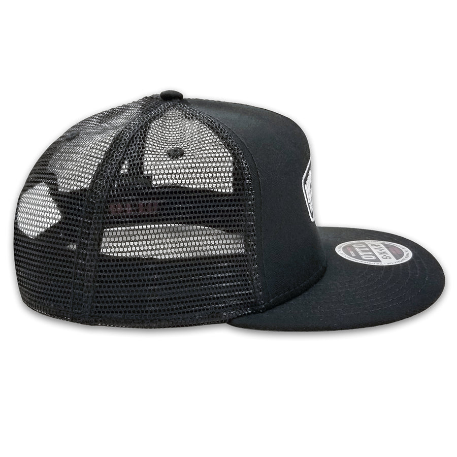 HHI DOUBLE TAG SNAPBACK - BLACK
