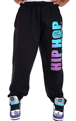 Vertical Hip Hop International Unisex Sweatpant - Black/Fade
