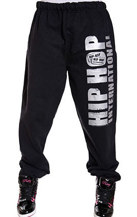 Vertical Hip Hop International Unisex Sweatpant - Black/Silver