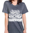 Official World Hip Hop Dance Championship Unisex Tshirt - H.Gray