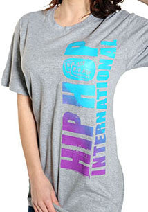 Vertical Hip Hop International Unisex Tshirt - Heather Gray/Fade