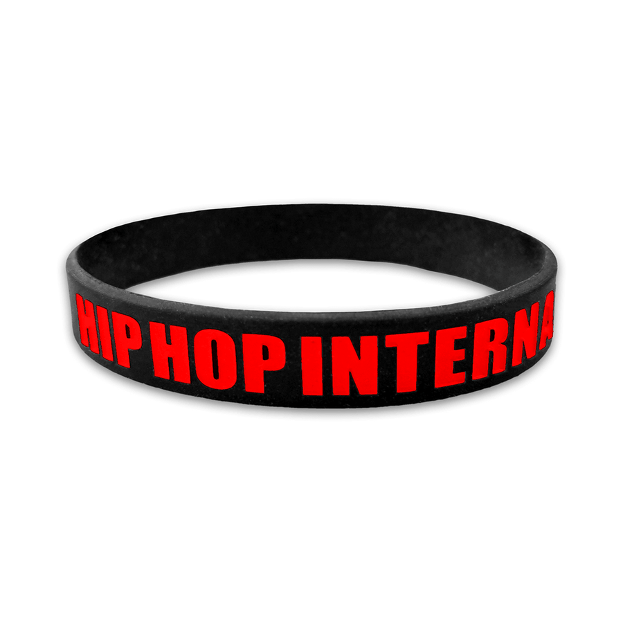 HHI Silicone Wristband - Black/Red