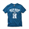 UNISEX S/S NEW VARSITY HIP HOP 'H' T-SHIRT - BLUE