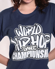 Official World Hip Hop Dance Championship Unisex Tshirt - Navy