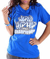 Official World Hip Hop Dance Championship Unisex T-Shirt - Blue