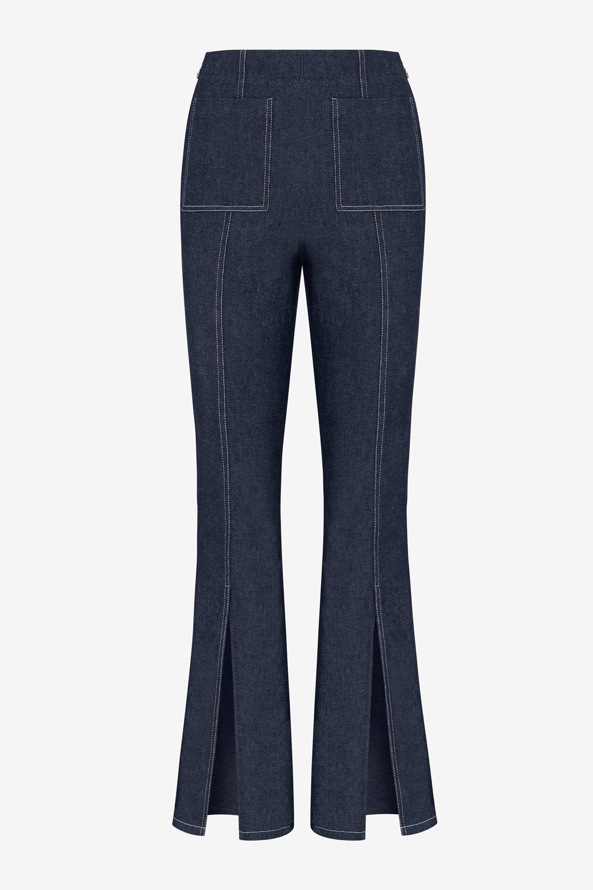 DENIM SLIT PANT