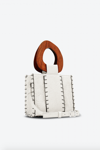 Edun Vegan Off White Bibi Bag - New*