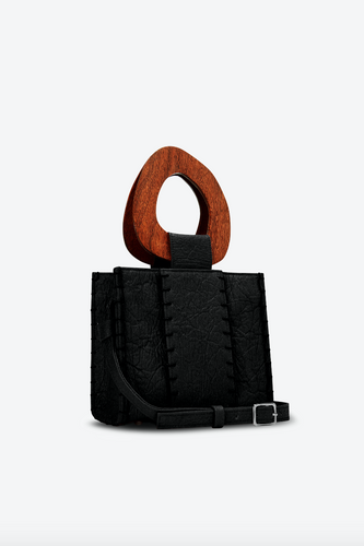 Edun Vegan Black Bibi Bag - New*