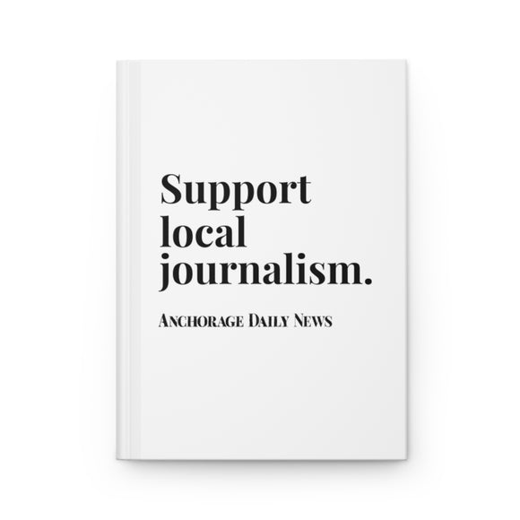 Journalism Notebook - White