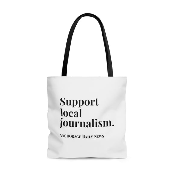 Journalism Tote Bag - White