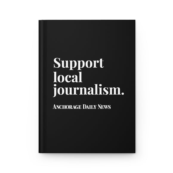 Journalism Notebook - Black