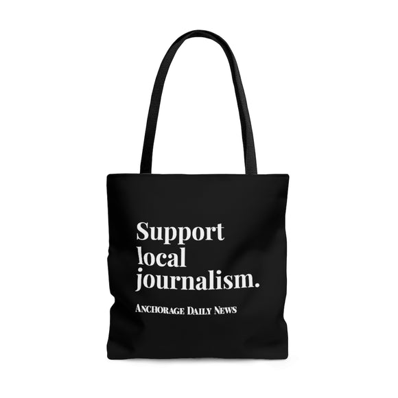 Journalism Tote Bag - Black