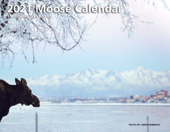 International Shipping: 2021 Moose Calendar
