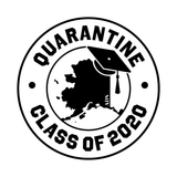 Class of the Quarantine Hoodie (Dark Logo)