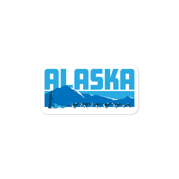 Alaska Musher Sticker