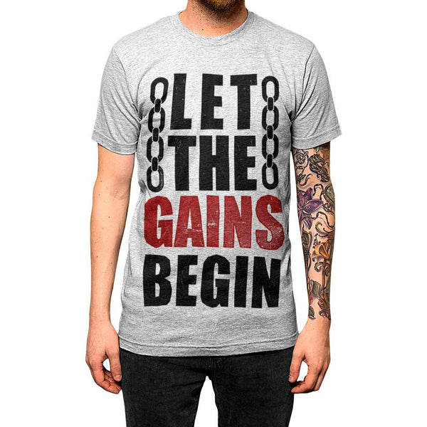 'Let The Gains Begin'