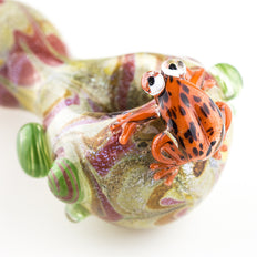 Empire Glassworks - Frog Spoon Pipe - Mike - Dry Pipe - Cloud Culture - 1 2nd View