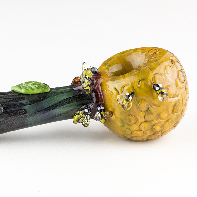 Empire Glassworks - Bee Hive Spoon Pipe -  - Dry Pipe - Cloud Culture - 1