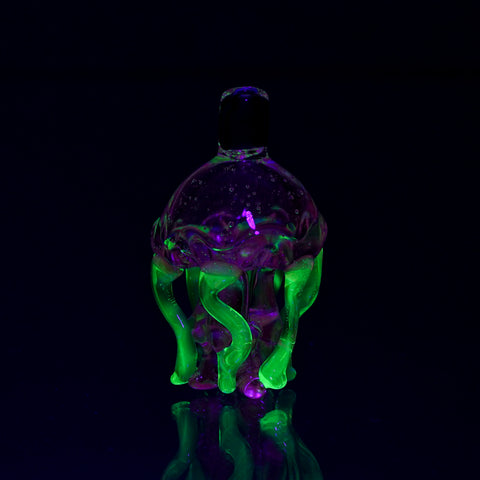 UV Jelly Fish Bubble Cap