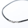 "20"" Black Leather Necklace"