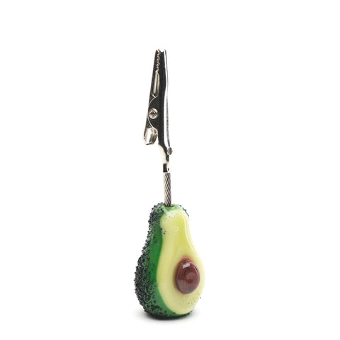 Avocado Alligator Clip