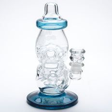 Blue Dream Cheese Bottle Water Pipe