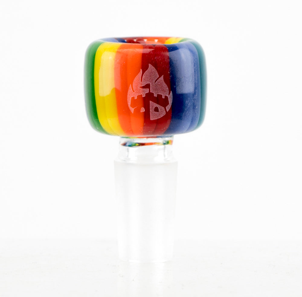 Bowl Piece - Rainbow