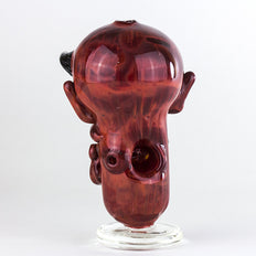 Crush Glass - Insane Asylum Face Pipe -  - Dry Pipe - Cloud Culture - 1 2nd View