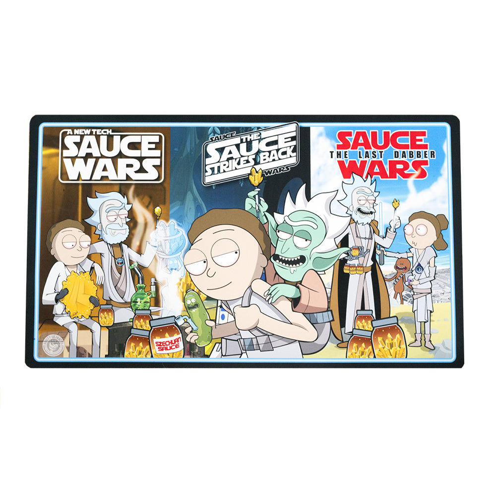 Sauce Wars Trilogy X-Large Dab Mat