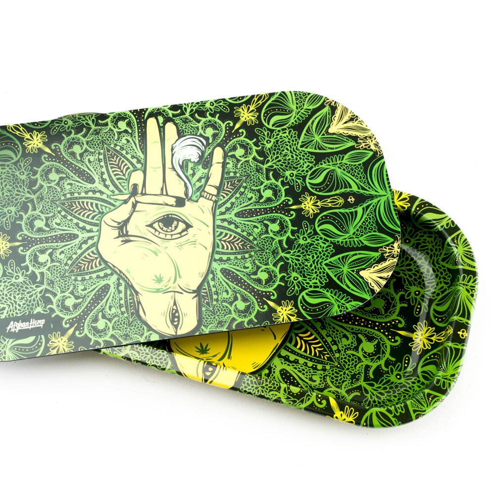 High Eye Rolling Tray