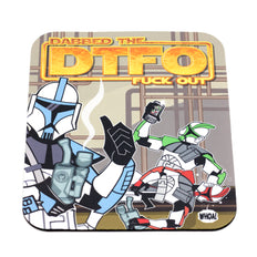 Dabbed Out Troopers Oil Mat