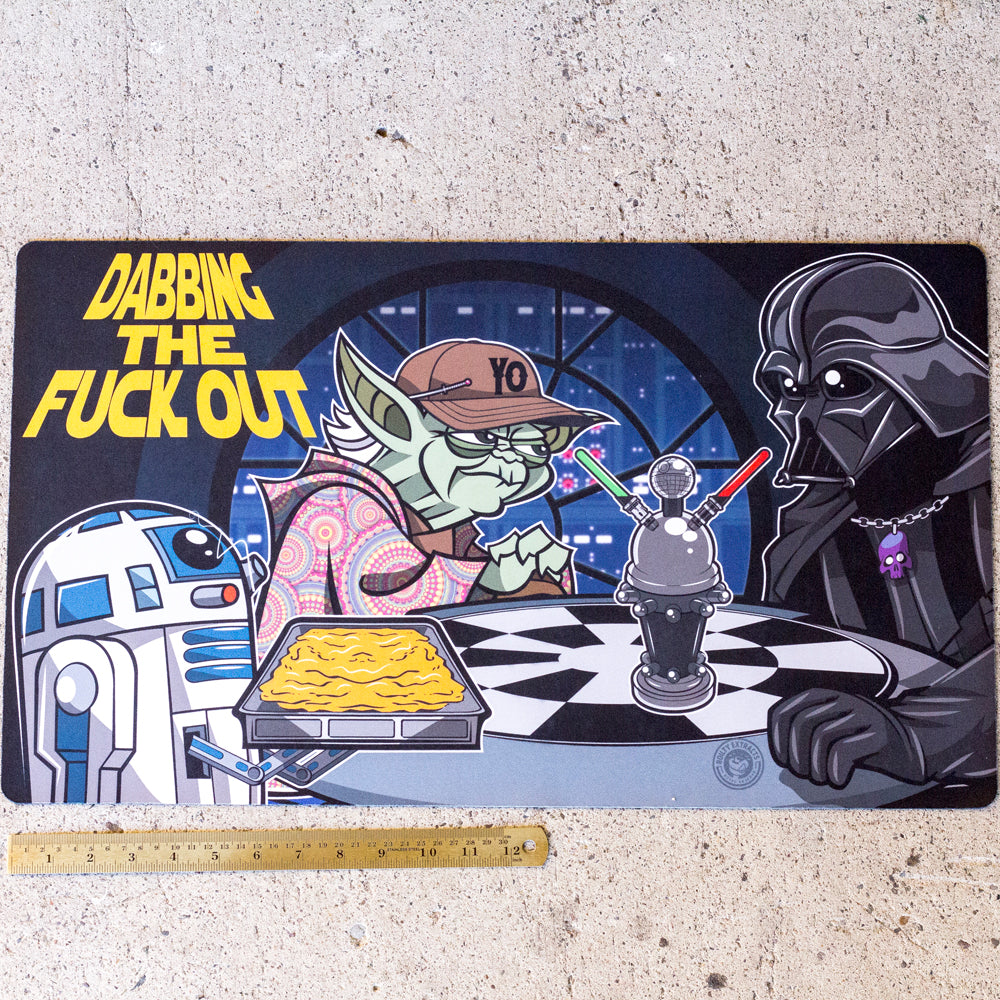Dabbing The Force X-Large Oil Mat