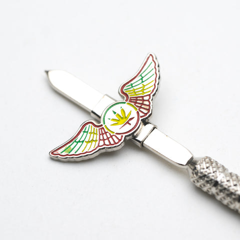 Ganja Wings Metal Dabber