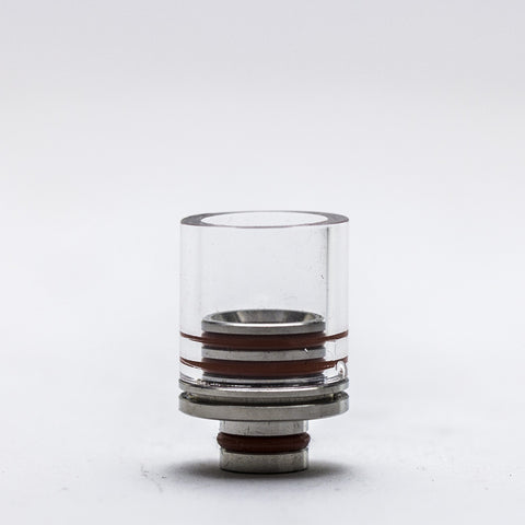Cloud Culture - Glass & Stainless Steel Wide Bore Drip Tip - Herakles -  - Drip Tip - Cloud Culture