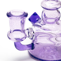 HuffyGlass Greasy Purple Micro Banger Oil Rig 2nd View
