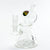 Rasta - Mav Glass Shower Slitted Barrel Beaker