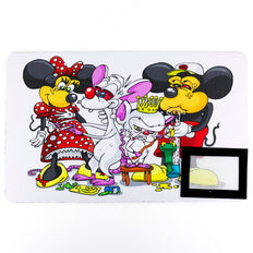 Mouse Party Dab Mat