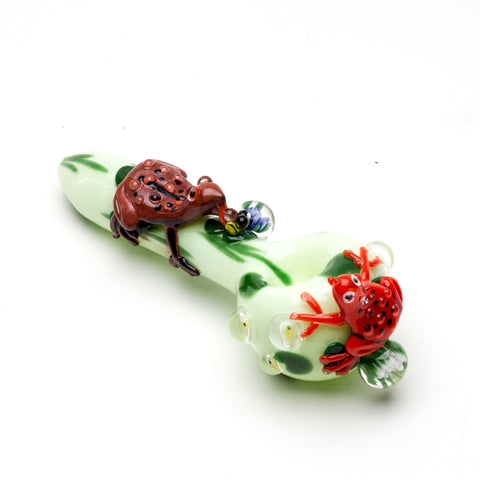 Ribbit Spoon Pipe