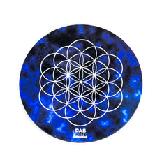 Sacred Galaxy Flower Of Life Dab Mat