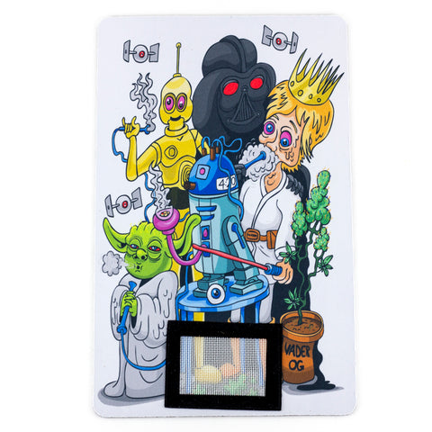 Space Stoners Dab Mat