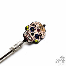 Cloud Culture - Sugar Skull Dabber -  - Dab Accessories - Cloud Culture - 1 2nd View
