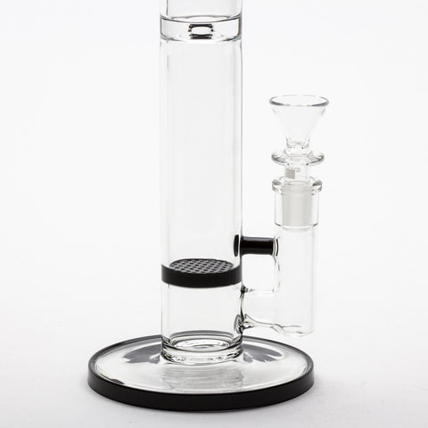"Grav Labs - ""The Flare"" Standard Stemless Honeycomb Straight Tube -  - Water Pipe - Cloud Culture - 3"