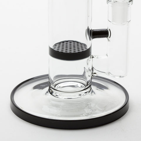 "Grav Labs - ""The Flare"" Standard Stemless Honeycomb Straight Tube -  - Water Pipe - Cloud Culture - 4"