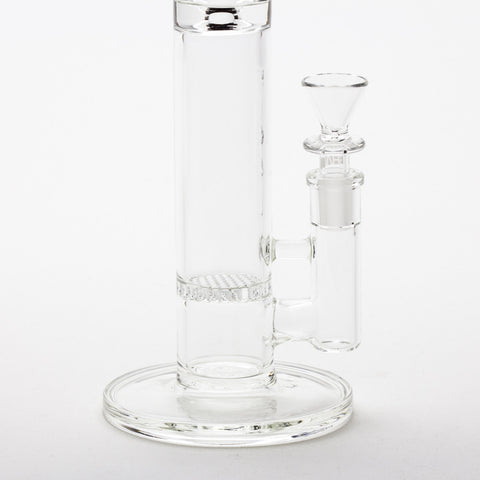 "Grav Labs - ""The Flare"" Standard Stemless Honeycomb Straight Tube -  - Water Pipe - Cloud Culture - 11"
