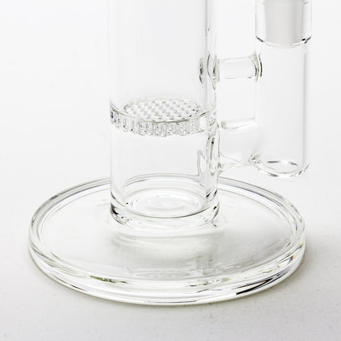 "Grav Labs - ""The Flare"" Standard Stemless Honeycomb Straight Tube -  - Water Pipe - Cloud Culture - 12"