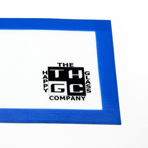 The Happy Glass Co - The Happy Glass Co Silicone Mat - Blue - Dabbing Mat - Cloud Culture - 2