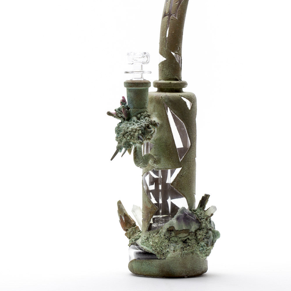 Titan Glassworks - Titan Glassworks Electroform Armor Rig -  - Water Pipe - Cloud Culture - 5