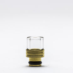 Trinity Glass - Shorty Pyrex Drip Tip - Gold -  - Drip Tip - Cloud Culture - 1 2nd View